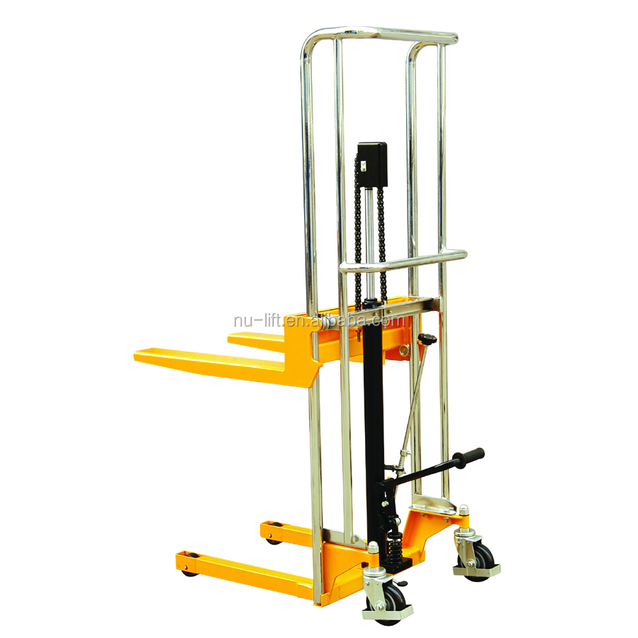 Fork Lift Foot : Foot pedel type manual hydraulic lifting forklift fork