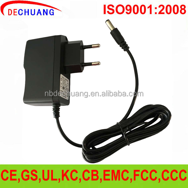 CE RoHS Wall Mouted DC 12v 1a power adapter 12v led power supply