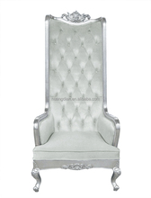 french style high back throne chair for sale TC4026