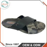 Men Shoes 2017 Handmade Products PU Insole China Rubber Slipper For Men