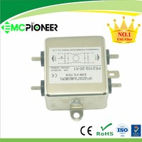 general purpose PE2102-20-01 control cabinet RFI shielding electrical filter