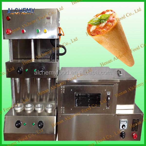 stainless steel pizza cone making machine/ pizza cone maker