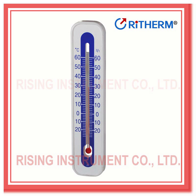 Plastic case glass thermometer(2264)