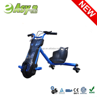 EN71 Certification Factory sale electric mini drift trike electric kids tricycle 100W drift flashing bike for kids