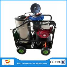 15HP dust cleaning equipment car detailing brush steam car wash machine mobile