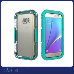 Wholesale unbreakable waterproof and dust proof diving phone case cover for samsugn galaxy S7 hot in ebay
