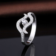 Moroccan Fine Wedding Rings Designer In Silver With 925 Sterling