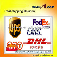 shipping samples and goods by air express from Hongkong to Honduras