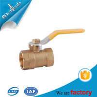 pn16 pn40 water pipe brass ball valve in low prices