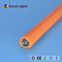 Underwater low voltage coaxial underwater electrical cable