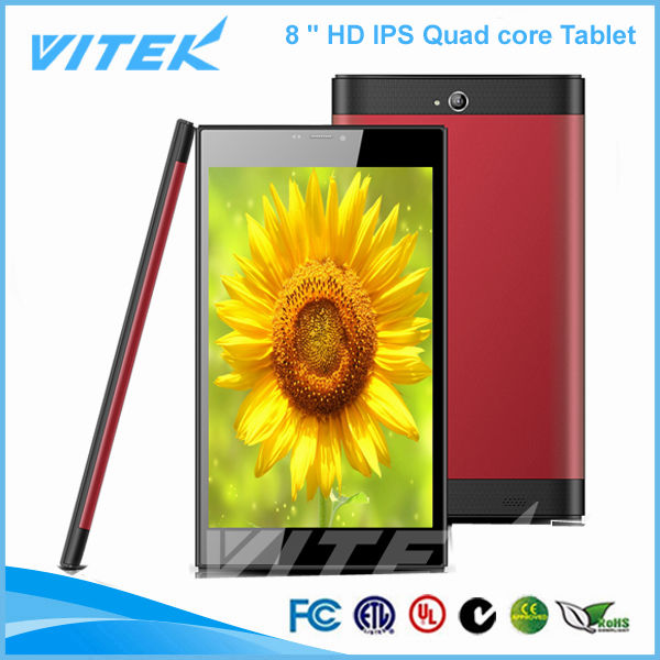 Hot new products 2015 touch panel 8 inch MTK 8382 Quad Core Tablet