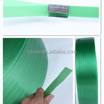 great quality green pet plastic packing strap