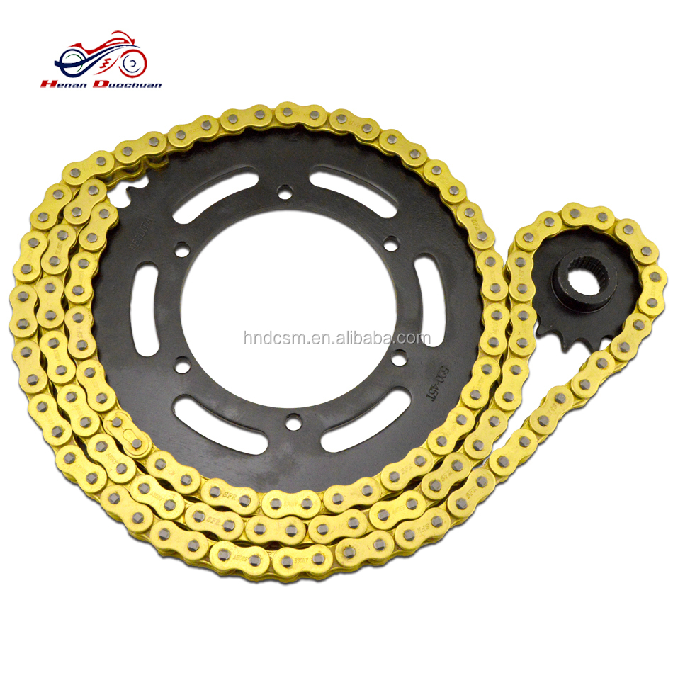 XJR400 motorcycle roller chain sprockets kit for Yamaha