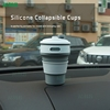 Collapsible Travel Silicone Camping Cup 12oz