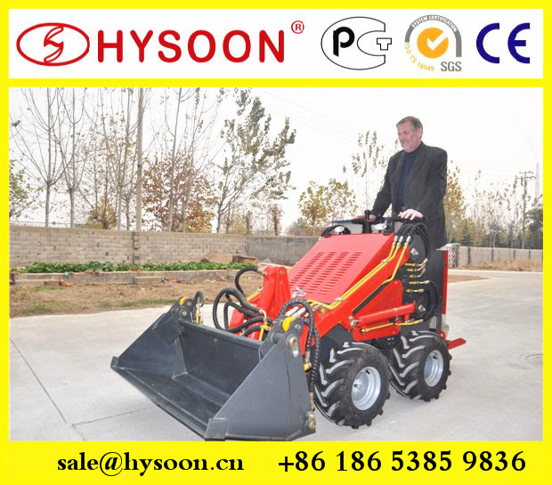 hysoon farm machine front loader attachment 4 in 1 buckets