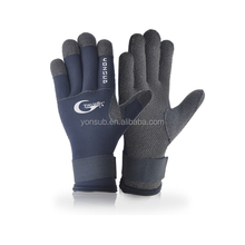 Black 3Mm Neoprene Diving Surf Gloves