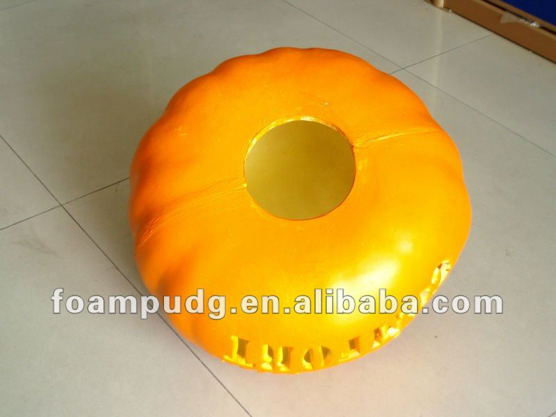 In 2012 the new rave Halloween promotional gifts PU hard foam pumpkin