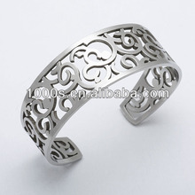 cuff stainless steel bangle for men