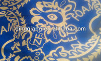polyester golden print fabric for bedding/sofa/wedding/hometextile/upholstery/curtain