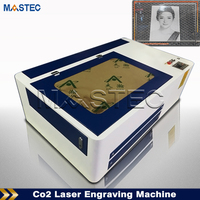 Wood Acrylic 3D Crystal Mini Co2 Laser Engraving Machine