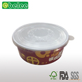 Disposable Salad Bowl With Plastic Lids