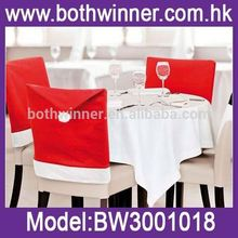 top wedding chair covers ,MW037 Hot Christmas Hat Chair Back Table Cover Xmas Home Dinner Party Table Decoration