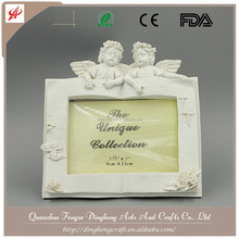 Photo Frame, Picture Frame European Beauty Resin Angel White Ceramic Angel