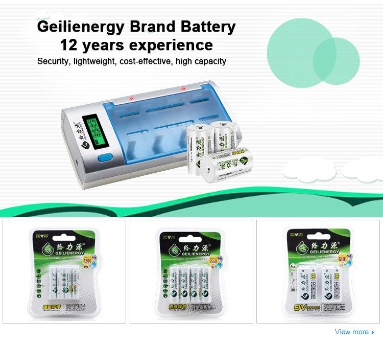 OEM Rechargebale NI-MH SC 6V 3Ah Battery