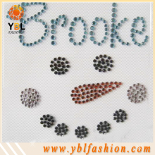 Strass motif hotfix rhinestone design transfer for garment
