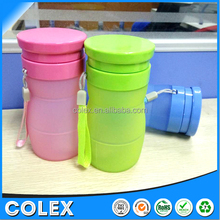 Unbreakable Foldable Leak Proof Silicone Sports Bottle, Medical Grade Silicone hydration bottle