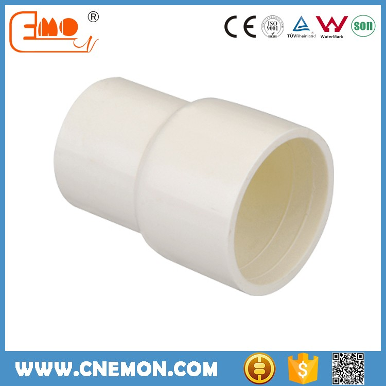 Fireproof Electrical cable PVC Fittings reducing coupler
