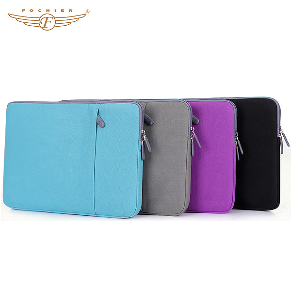 Custom Shockproof Zipper 14 inch Laptop Sleeve Bag