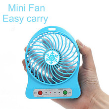 2017 Summer Promotional Gift Hot Sale Mini USB Fan for Computer or power Mobile power supply