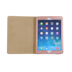 Professional wholesale PU leather smart flip stand folio tablet case cover For iPad Air12