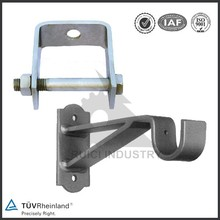 China welding wall mounted angle cast wrought iron bracket