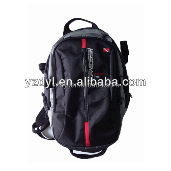 Travelling use 17 inch backpack laptop bags with camera pocket