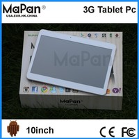 Mapan 10 inch 16GB android 4.4 tablet pc with dual sim card slot gsm 3G, android 10 inch best tablet android