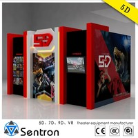 Attractive and convenient 5D cinema equipment for sale
