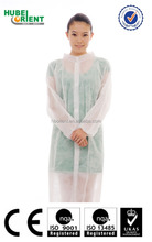disposable pp white working smocks