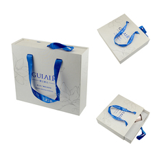 Matt lamination white luxury cardboard gift box for e-liquid bottle packaging
