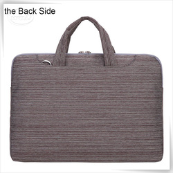 "Polyester messenger shoulder cheap price 15.6"" laptop bag"