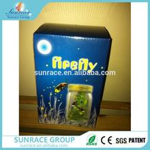 Brand new solar butterfly jar solar butterfly in flower led flashing electronic butterfly flying for wholesales