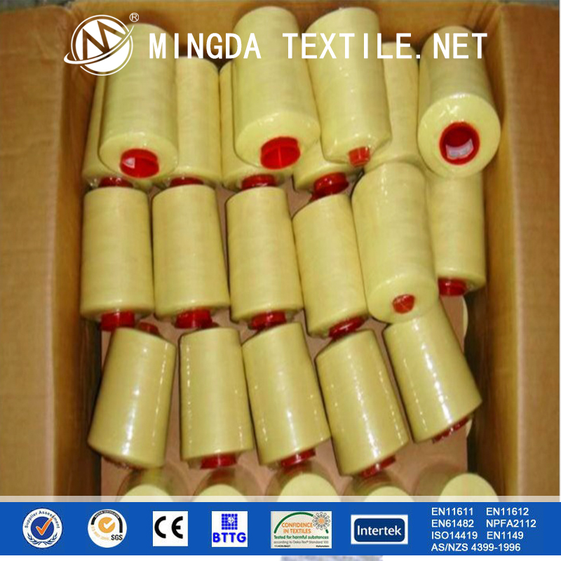 Free sample China factory wholesale low price para aramid dyed FR aramid yarn for glove