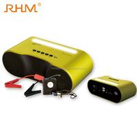 RHM Car jump start kit 12000mAh mini multi-function bluetooth speaker car jump starter for 12V vehicles