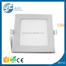 led rectangular downlight 12w CE ROHS approved