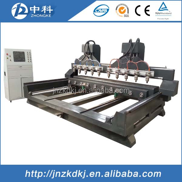10 heads cnc router carving machine / wood doors cnc router