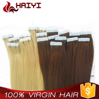 Top Quality Human Hair Hair wavy hair tape extensions