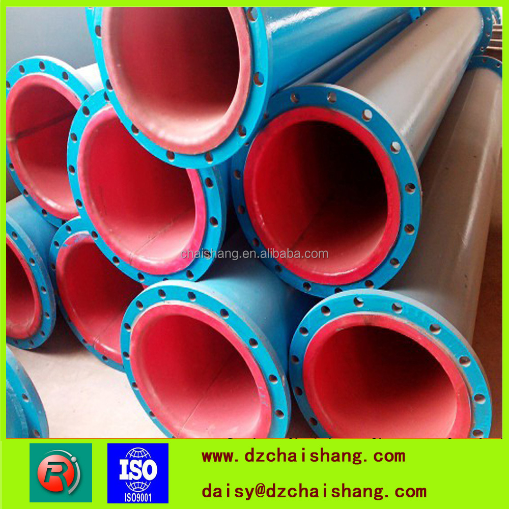 high abrasive resistant quality Polyethylene Coated Steel/stainless pipes