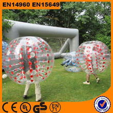 hobbies cheap human being half color tpu bubble soccer /bubble ball