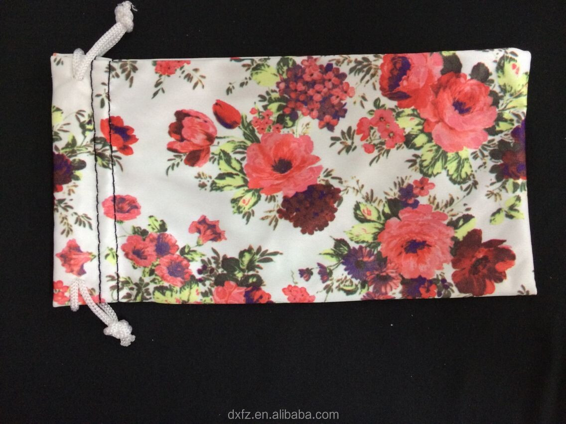 print digital pouch mobile,glasses cloth case